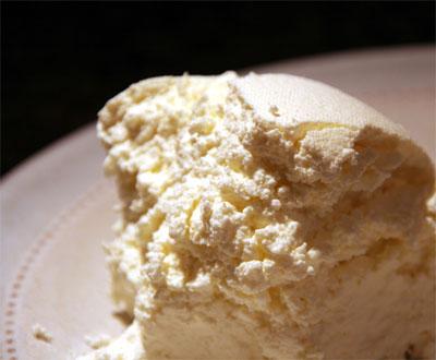 Ve sonuç. Kefir peyniri. Afiyet olsun.