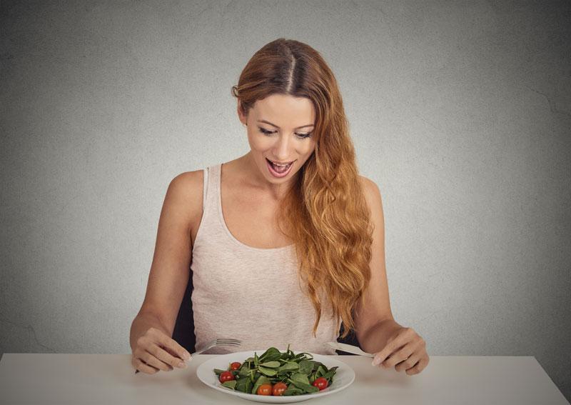 Kefir diyetinde ikinci gün istediğiniz kadar sebze sizi bekliyor!