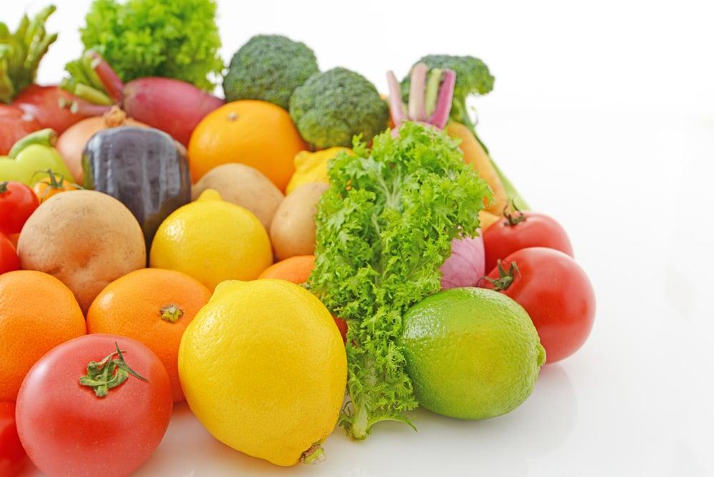 Üçüncü gün meyve ve sebze günü.