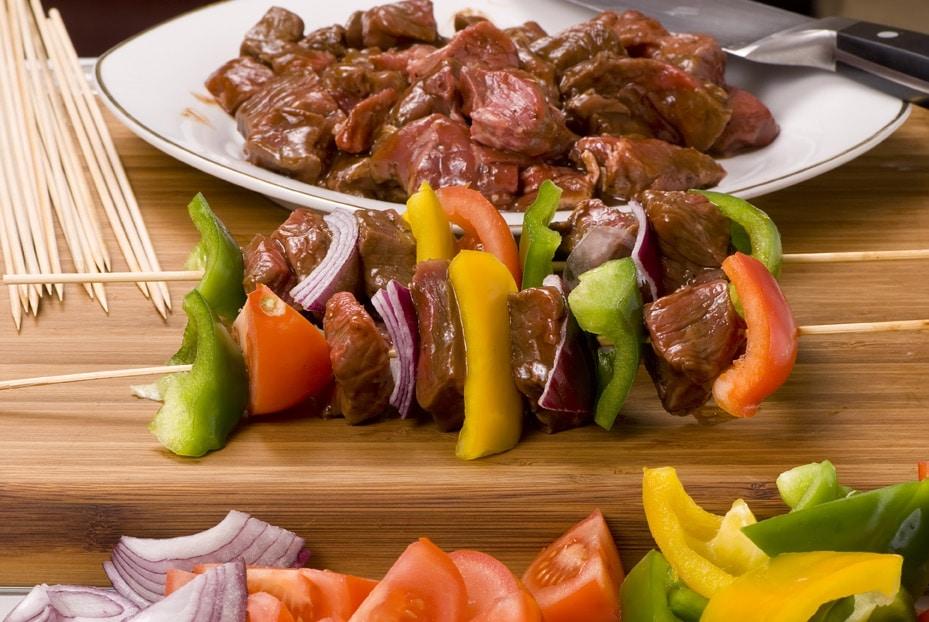 Altıncı güne geldiğimizde sebze ve kırmızı et yiyeceğiz.