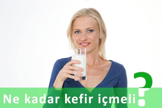 Bir günde kaç bardak kefir içilmelidir?
